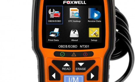 FOXWELL NT301 OBDII Scanner Review 2021[Update]