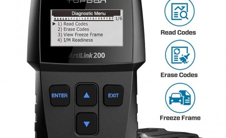 Best Topdon AL200 OBD2 Scanners Code Reader Reviews 2020 [Update]
