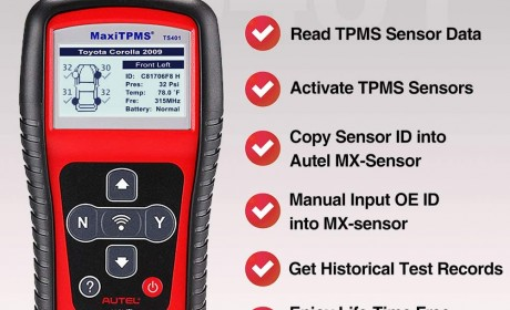 Best Autel MaxiTPMS TS401 OBD2 Scanners Reviews 2020 [Update]