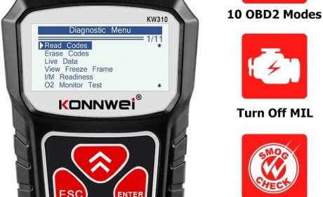 Best Review KONNWEI KW310 OBD2 Scan Tool 2021[Update]