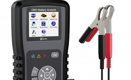 Best Review KZYEE KM301 2-in-1 Code Reader Battery Tester Scan Tool 2021[Update]