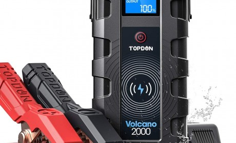 Best TOPDON Volcano 2000A Peak Jump Starter Reviews 2020 [Update]