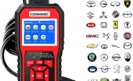 Best KONNWEI KW850 OBD2 Scanner Review 2021[Update]