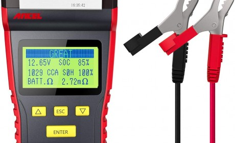 Best ANCEL BST500 Automotive Battery Tester(Review and Buying Guide) 2021[Update]