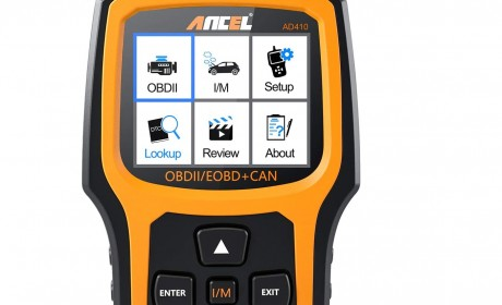 AnCel AD410 Enhanced Automotive Scan Tool 2021 Review