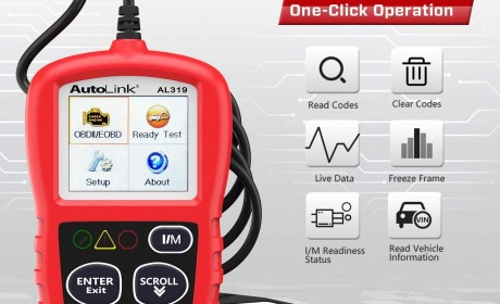 Best Autel AutoLink AL319 OBD2 Scanners Reviews 2020 [Update]